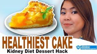 The Healthiest Apple Cake Recipe - Kidney Diet Dessert Hack