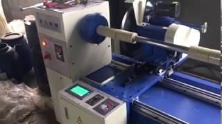 Strip cutting machine for car floor mat, garment