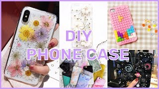 DIY PHONE CASE I tumblr and easy ideas