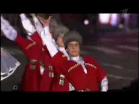 Нальмэс и Казачий хор!!!Красная площадь.