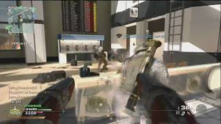 Modern Warfare 2: ACR & Tar 21 Gameplay - Sandy Ravage