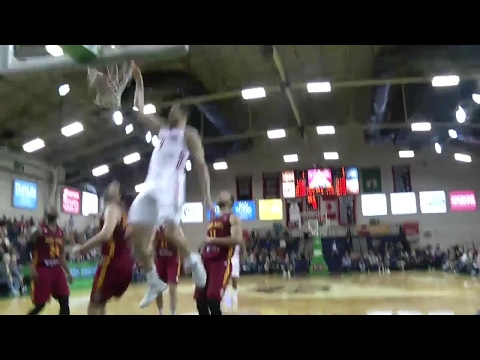 Abdel Nader with the dunk!