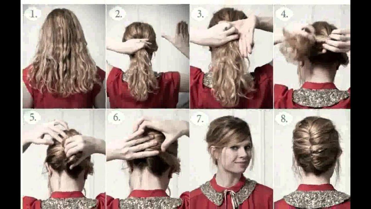 Cabello Recogido Peinados Sencillos ideas