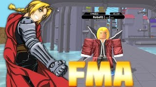 BECOMING EDWARD ELRIC FROM FULL METAL ALCHEMIST IN NINDO RPG: BEYOND!! | Roblox