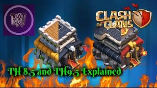 Clash of Clans (COC) : Town hall 8.5 and 9.5 Explained - Is it worth it???🤔