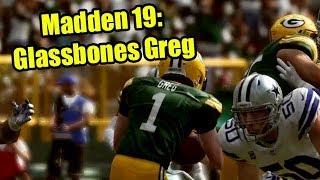 Madden 19: Glassbones Greg (Highest Injury Sliders, Lowest Injury Rating)