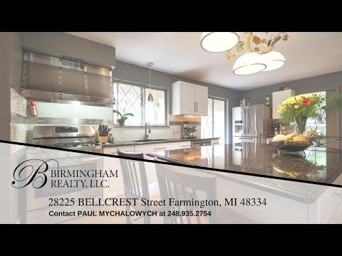 28225 Bellcrest St. Farmington Hills, MI 48334