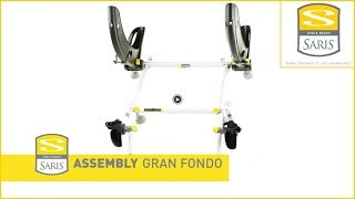 Saris Gran Fondo Bike Carrier - Assembly - Rear Mounted Bicycle Rack