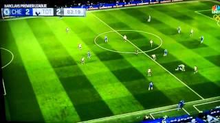 Eden Hazard Goal vs Tottenham 2-2 5/2/16
