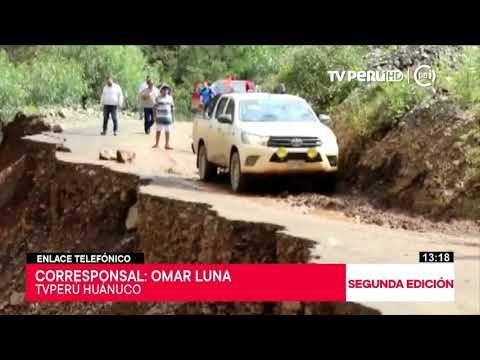 Huánuco: lluvias constantes incrementan caudal del río Huallaga