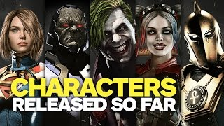 Every Injustice 2 Character Revealed So Far - April 2017