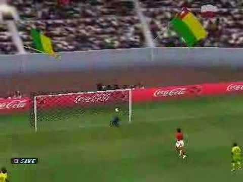 WE2002 volley goal by Salifou from Togo (after Adebayor's pa