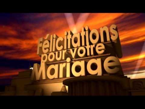 flicitations pour votre mariage youtube - Mot Pour Felicitation Mariage