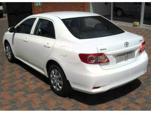 2011 Toyota Corolla For Sale >> 2011 Toyota Corolla 1 3 Professional Auto For Sale On Auto Trader South Africa