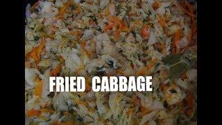 Easy Fried Cabbage and Carrots - Zasmazana kapusta z marchewka Episode#17