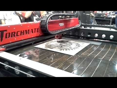 Torchmate CNC Plasma Table - Metal Art