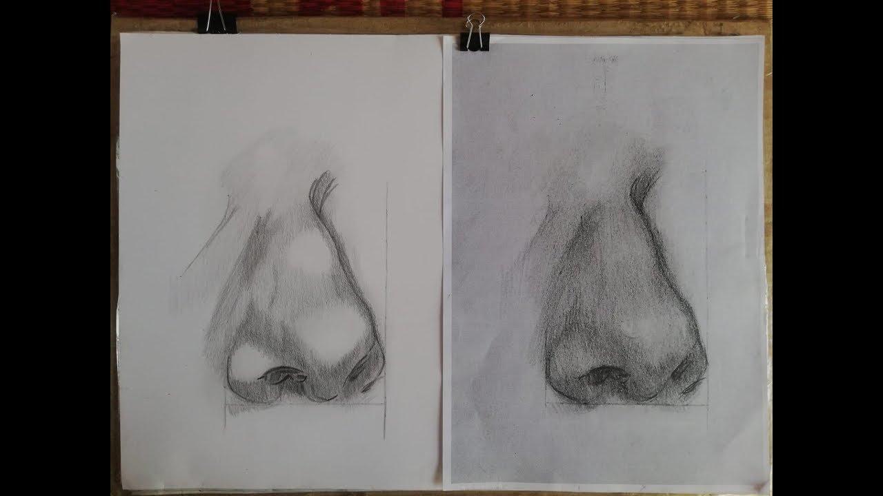 Drawing AZ, Học vẽ chân dung online, bài 154