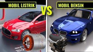 Mobil listrik Vs Mobil bensin