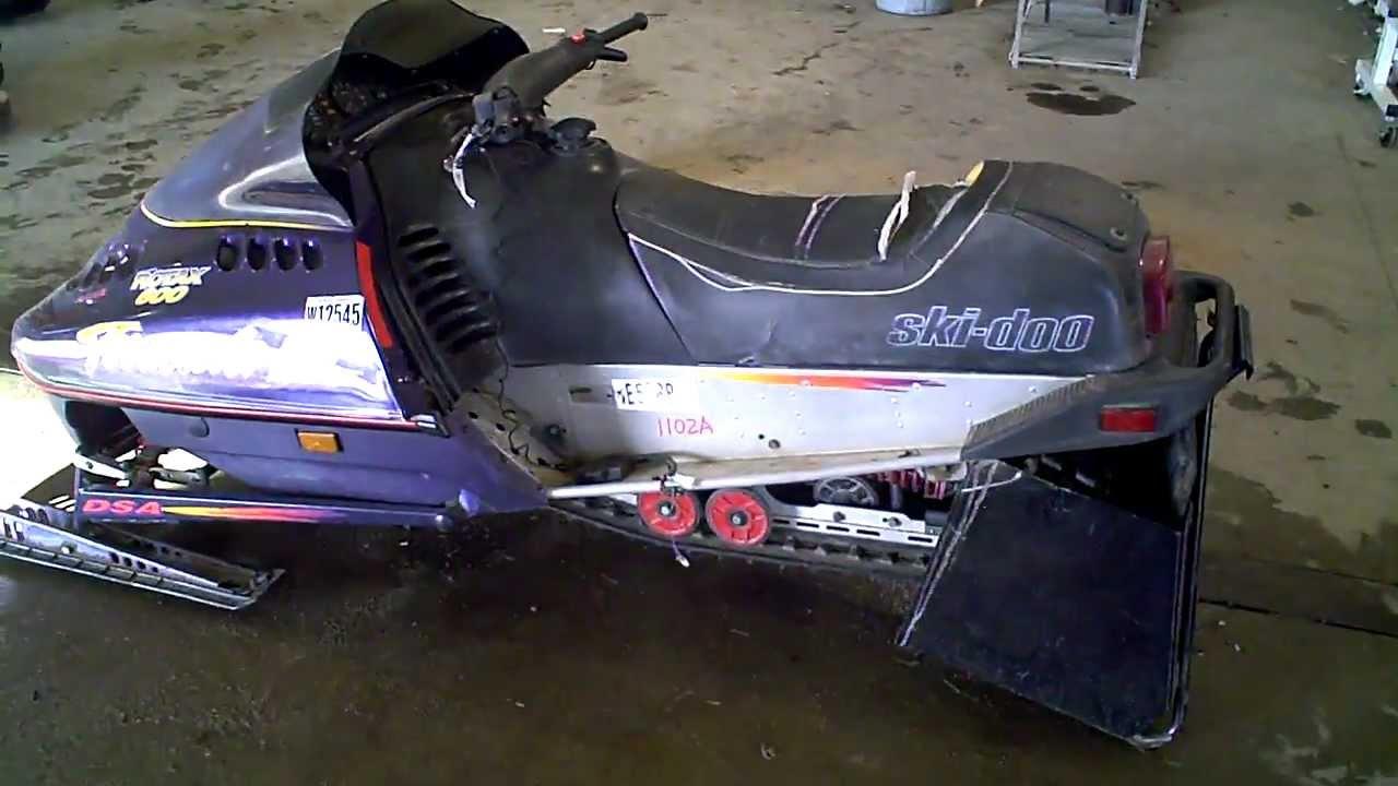 1995 Ski Doo Formula 3 Chassis with a 1995 Formula Z 583 ...