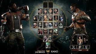 MORTAL KOMBAT 11 - Jax Briggs vs Kano Gameplay @ 60ᶠᵖˢ ᴴᴰ ✔