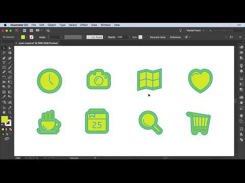 How to Export Assets for Web and Icon Design in Illustrator CC