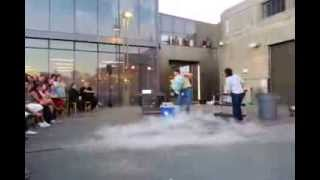 Boom - Hot water and Liquid Nitrogen