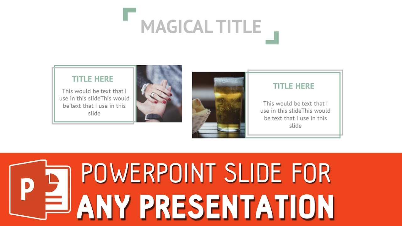Clean powerpoint slide template for any presentation powerpoint clean powerpoint slide template for any presentation powerpoint tutorial pronofoot35fo Image collections