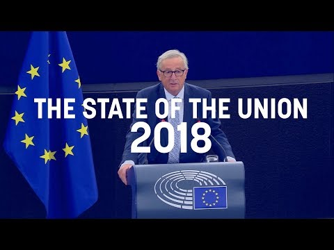 Juncker's full 2018 State of the Union speech