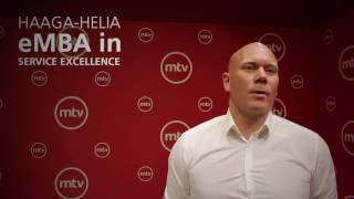 Haaga-Helia eMBA alumnus, Antti Vaasjoki