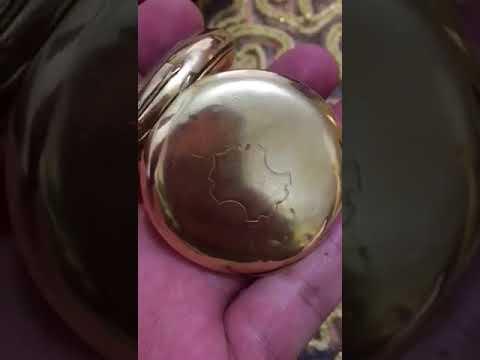 de7b3ba0b8658 Gold Omega Watch 1900 ساعة أوميغا ذهب عيار ١٨ صناعة سنة ١٩٠٠ لأعلي ...