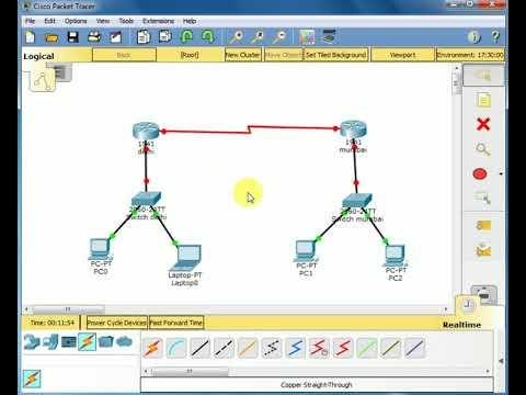 Cisco packet tracer tutorials in hindi | tutorial 1 basic pc.