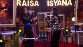Special Performance Raisa X Isyana Anganku Anganmu