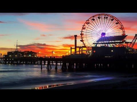 Visiting Santa Monica!