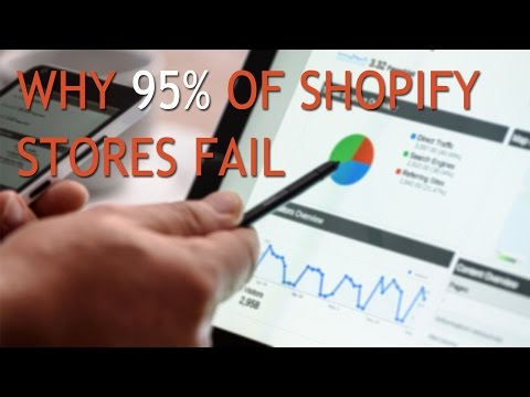 4 Main Reasons Why 95% Of Shopify Stores Fail