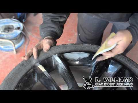 DW Car Body Repairs – Damaged Alloy Wheel Repair