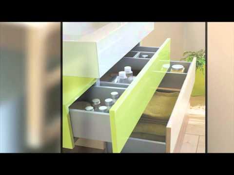 sanijura pacific cr ateur de mobiliers de salle de bains youtube. Black Bedroom Furniture Sets. Home Design Ideas