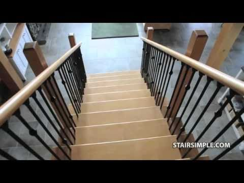 Stair Simple Interior Stair Railing
