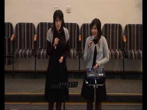 Shout to the Lord - Eunice Ferreira & Vania Szasz