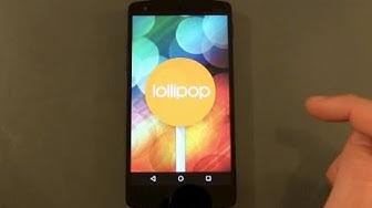 Android 5.0 Lollipop OTA Update erzwingen