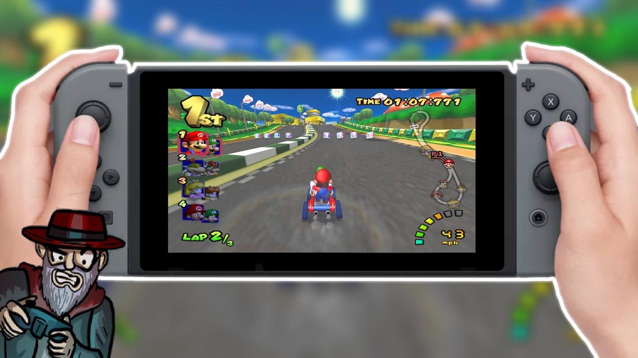Nintendo Switch Needs Mario Kart Double Dash Youtube