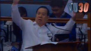 Napahiya si Hontiveros kay Gordon during senate Session with Tito Sen