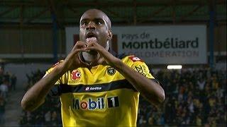 But Sloan PRIVAT (71') - FC Sochaux-Montbéliard - Olympique Lyonnais (1-1 / 2012-13