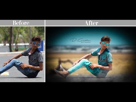 how to manipulate & edit  look like popz creation Photoshop tutorial