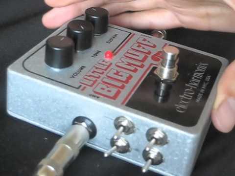 Modified and circuit Bent Electro Harmonix Little Big Muff