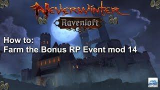 Neverwinter: How to farm the Bonus RP Event mod 14
