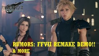 Hey guys thought I'd cover some of the FFVII Remake Rumors as they sound really good and get the hype train rolling. Now remember they are Rumors and to ...