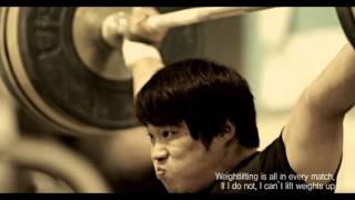 """[adidas Olympic] all 2012 Story """"Weightlifting"""""""