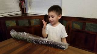 tasting the worlds biggest gummy worm