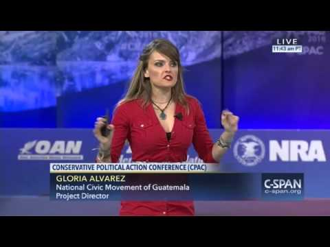 MUST SEE: Gloria Alvarez speaks at CPAC and gives an excellent speech.