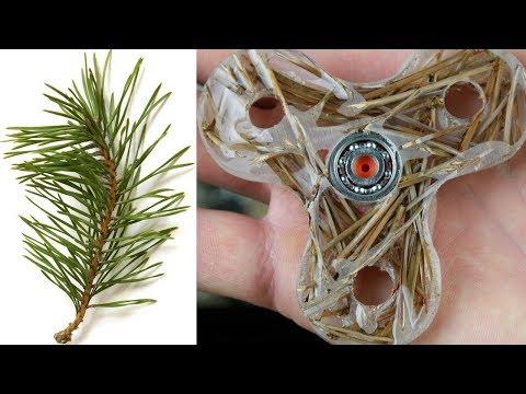 (Epoxy Resin) Fidget Spinner & (Pine Needles)